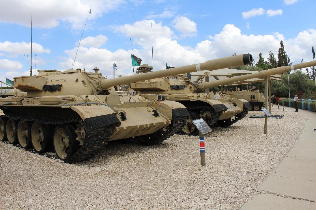 1003 Ägypt. Syr. T54 Tank