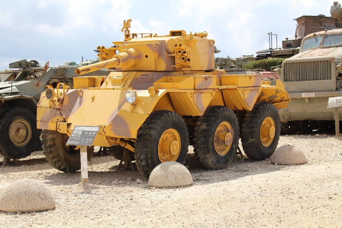 1041 Saladin Armoured Car