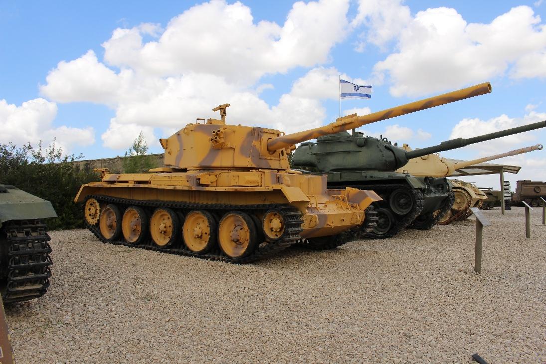 1052 Brit. Charioteer tank Seite