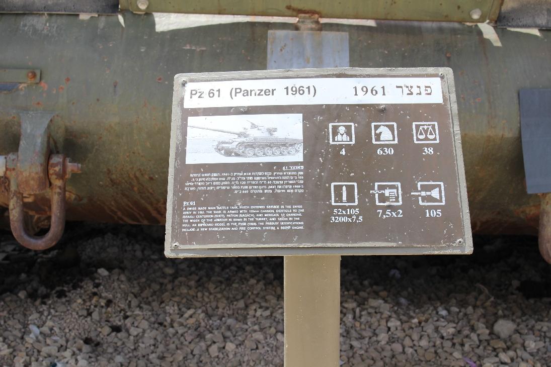 1069 Pz61 Tank Beschreibung