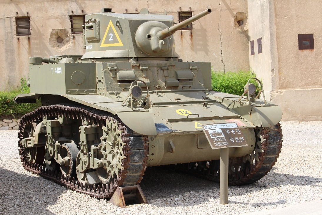 1071 M3A1 Stuart Light Tank