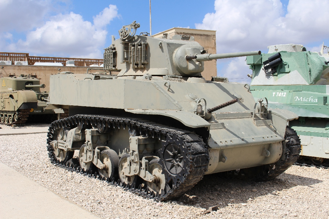1077 M5 Light Tank