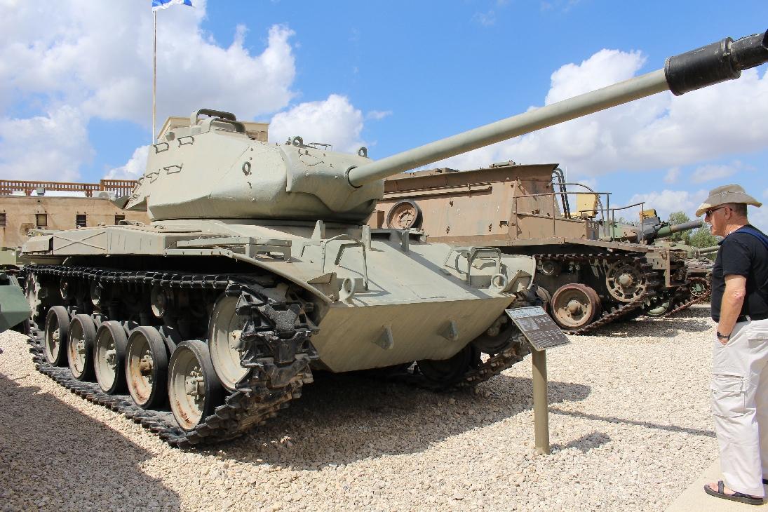 1080 M41A3 Walker Bulldog Tank Vorderansicht