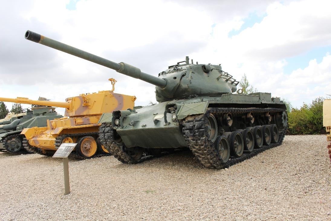 1081 M47E1-E2 Patton Tank (2)