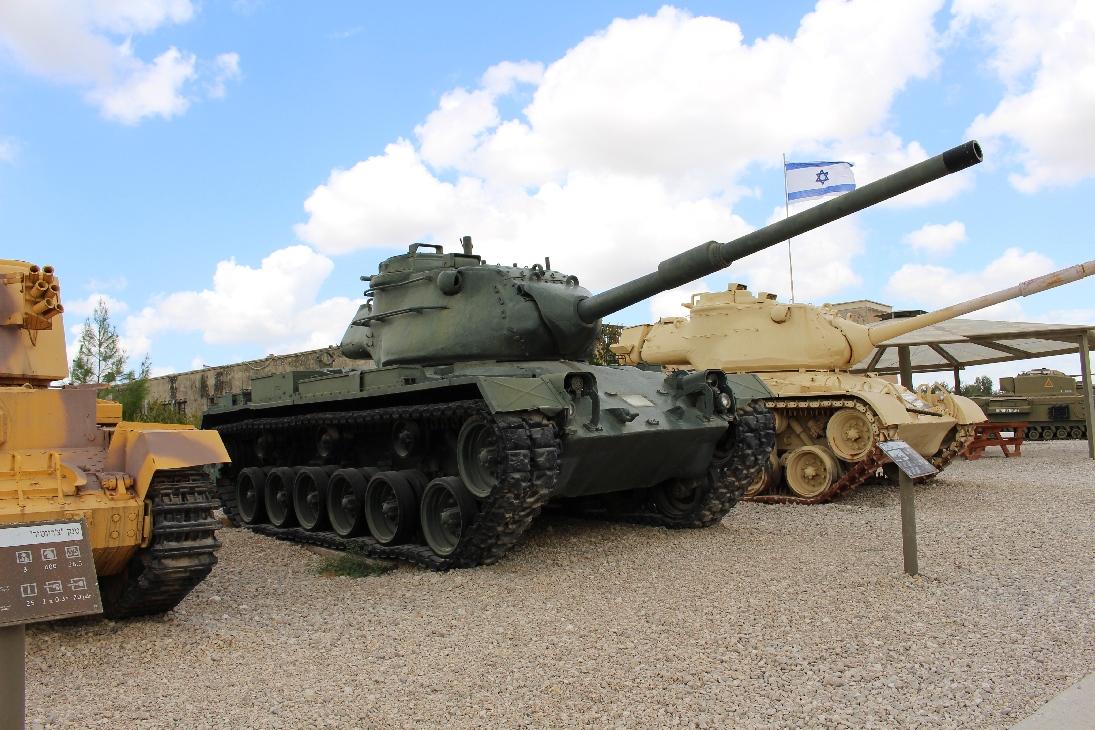 1082 M47E1-E2 Patton Tank (3)