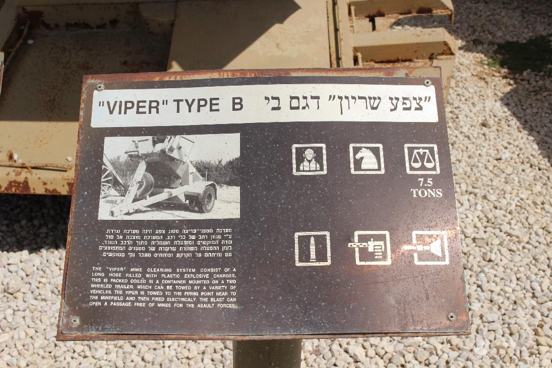 1088 Viper Type B Minenräumgerät Beschreibung