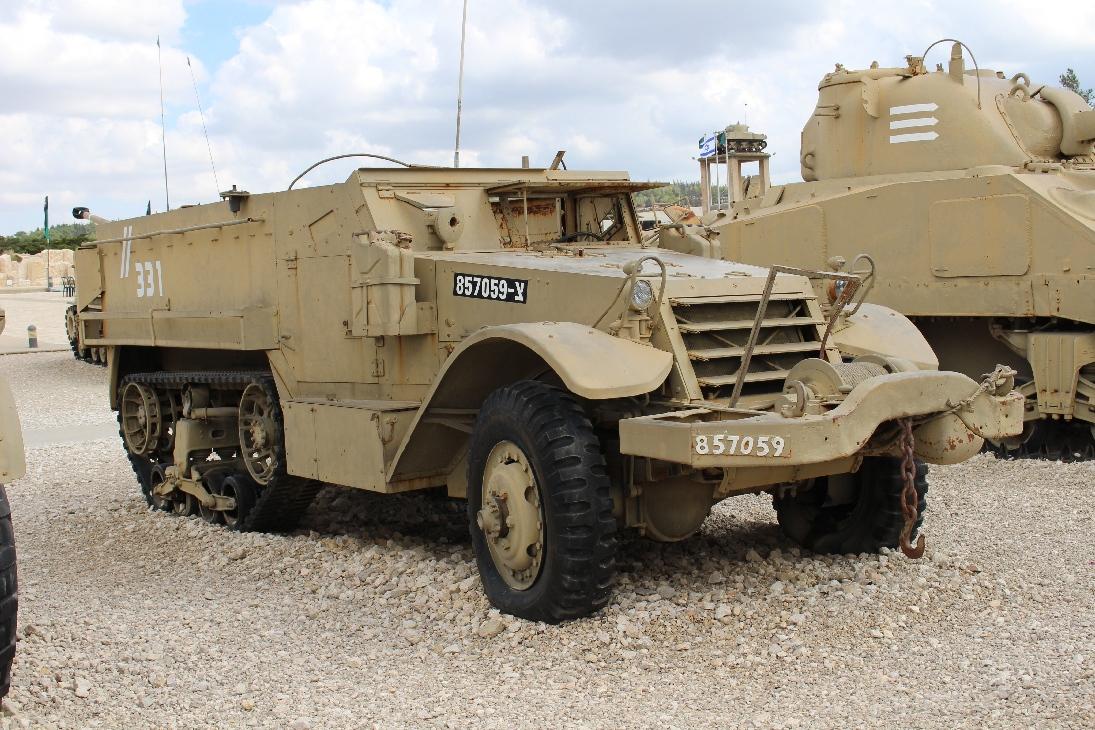 1095 M2 Armoured Half Track