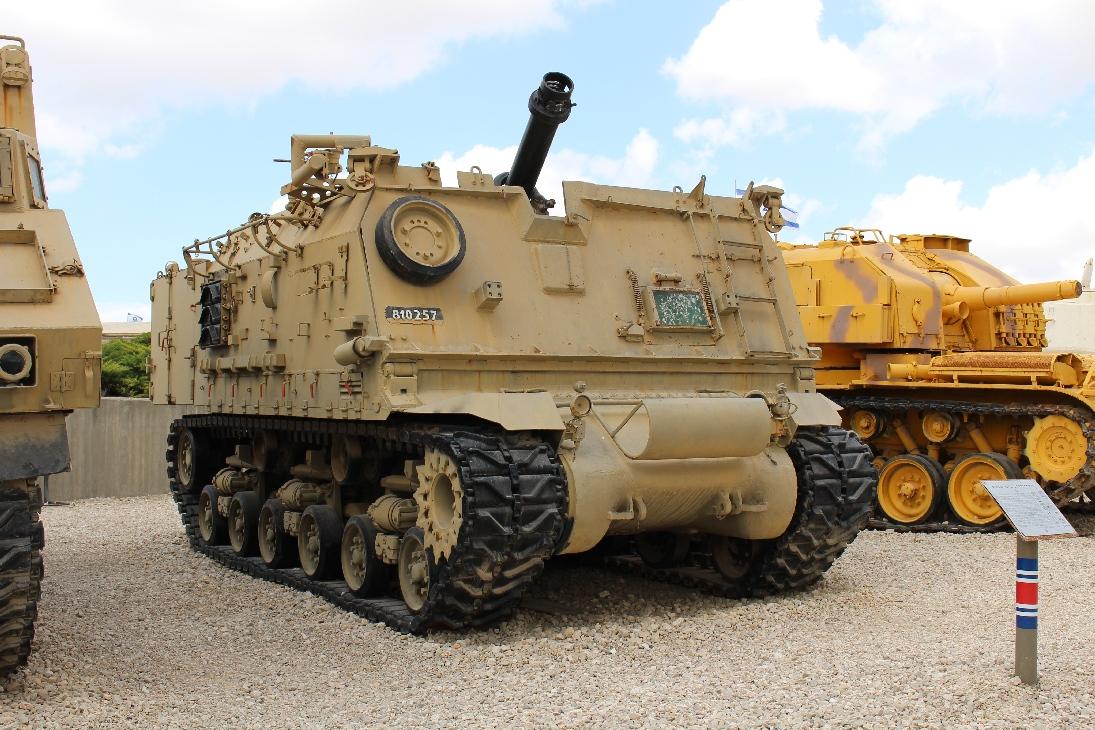 1104 Israel. 160mm Mortar auf Sherman-Fahrgestell