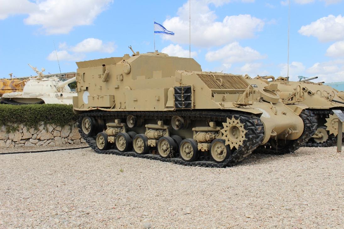 1106 Israel. Sherman Umbau Sanitätspanzer