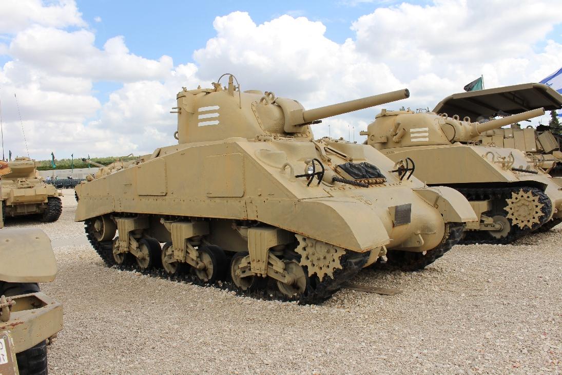 1109 M4A3 Sherman Tank