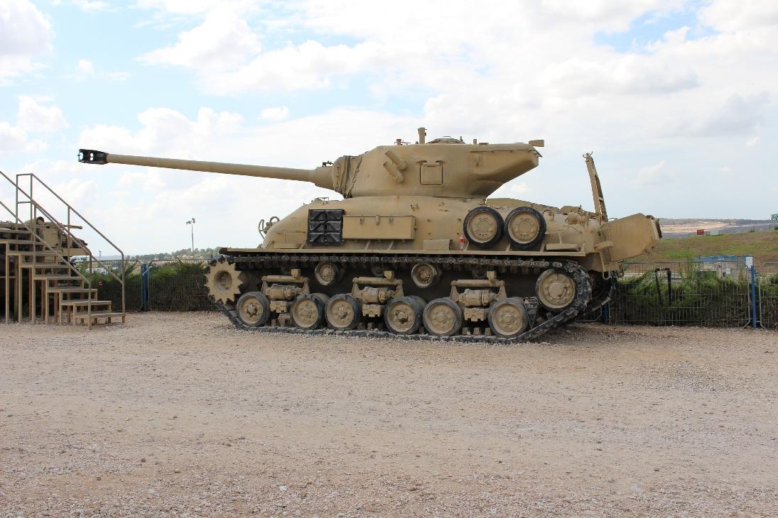 1116 M51 Sherman Tank (2)