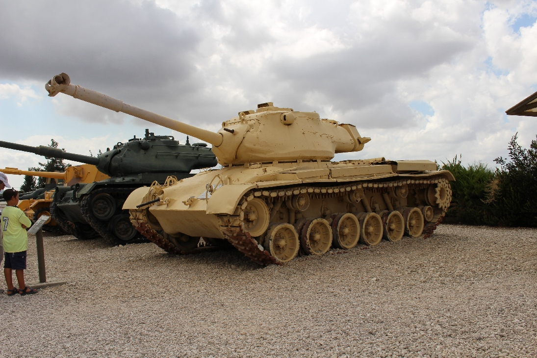 1127 M47E1-E2 Patton Tank