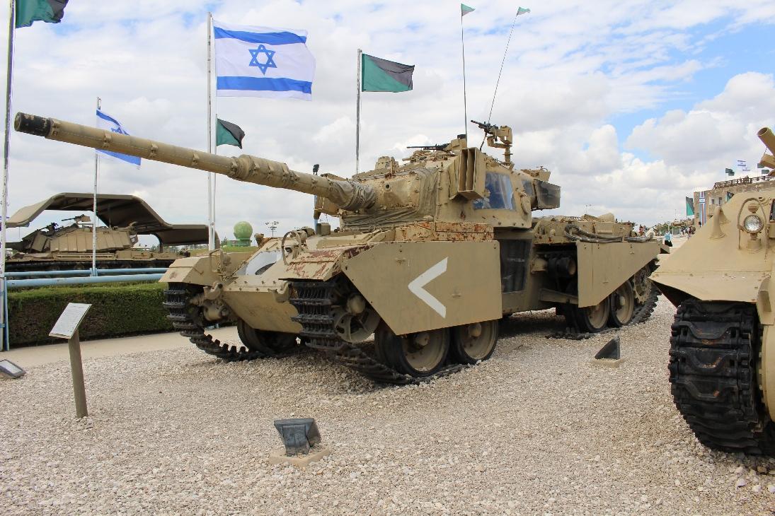 1133 Israel. Centurion Tank open