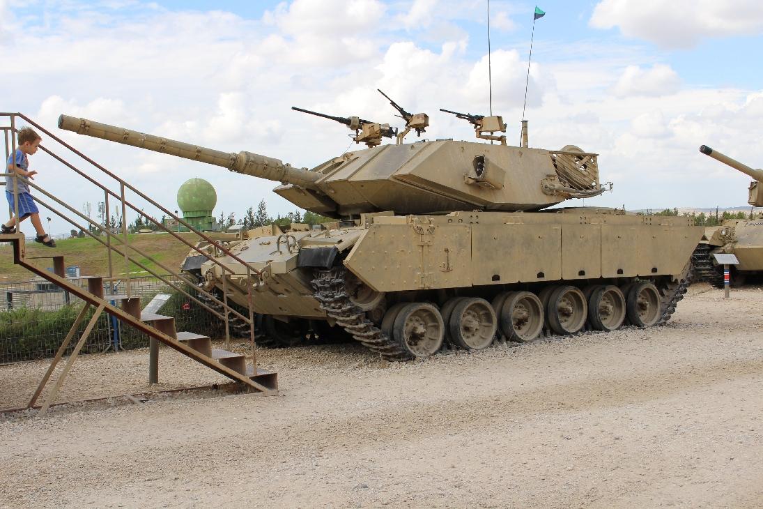 1142 Israel. M60  Magach 7 Tank