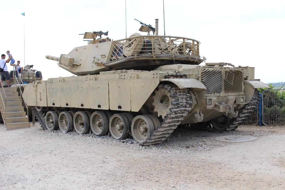 1143 Israel. M60  Magach 7 Tank